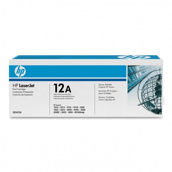 HP Q2612A Cartouche de toner LaserJet 12A Noir 2000 pages