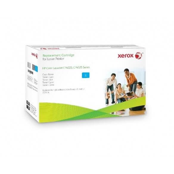 Consommable xerox cartouche de toner compatible cyan de 12800 ...