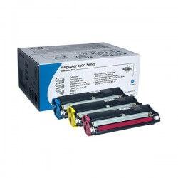 Konica Minolta Toner Value Kit C.M.J pour MagiColor 2400 / 4500 pages