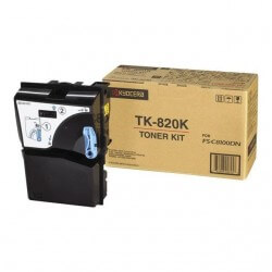 Kyocera TK-820K Toner Kit Noir
