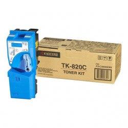 Kyocera TK-820C Toner Kit Cyan