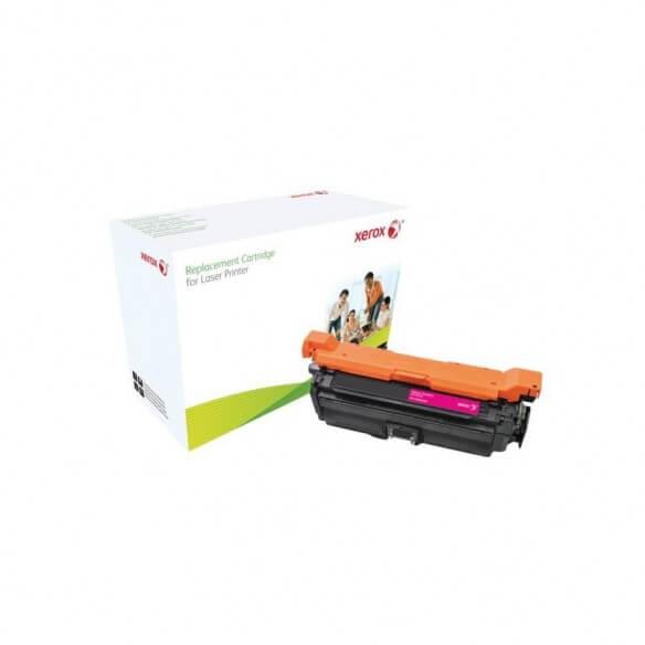 Consommable xerox cartouche de toner compatible magenta de 125...