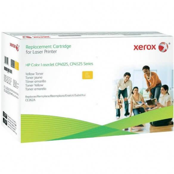 Consommable xerox cartouche de toner compatible jaune de 12800...