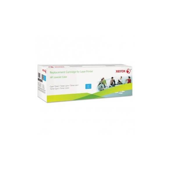 Consommable xerox cartouche de toner compatible cyan  12500 pa...