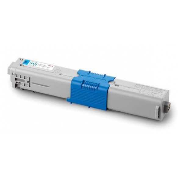 OKI Cartouche de toner Cyan haute capacité 5000 pages pour OKI MC562,MC561,C510,511,530,531