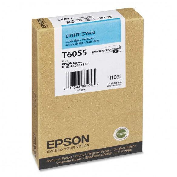 Epson Encre Pigment Cyan Clair (110ml)