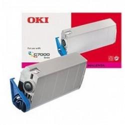 OKI Cartouche de Toner Magenta 10000 pages pour Okip.C7200 C7400
