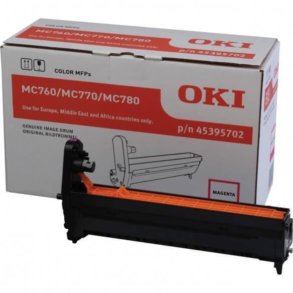 OKI  kit tambour Magenta pour OKI MC760/780 (photo)