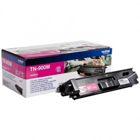 Brother TN900M Cartouche de toner Magenta 6000 pages pour HL-L9200CDWT/MFC-L9550CDWT