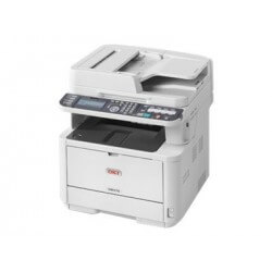OKI MB472DNW Imprimante Multifonction Laser Noir et Blanche A4