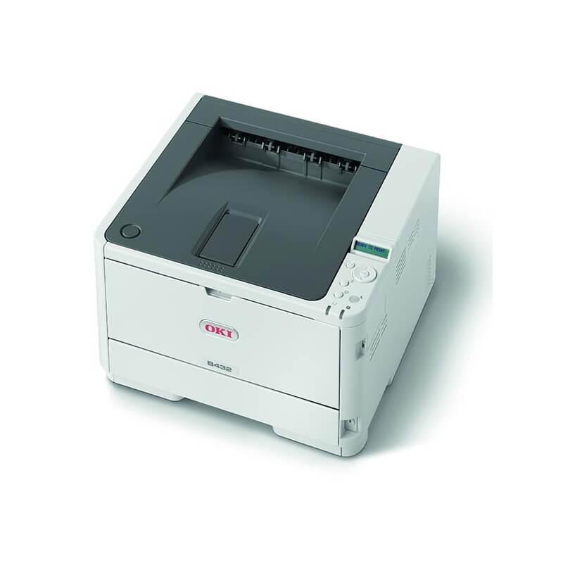 oki b432dn imprimante laser monochrome a4 recto verso le mat riel informatique. Black Bedroom Furniture Sets. Home Design Ideas