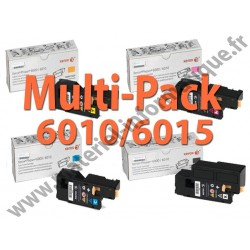 Offre : Xerox Multipack 4 couleurs pour Workcentre 6015 et Phaser 6000/6010