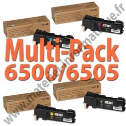 MultiPack 4 couleurs haute capacité Xerox pour Phaser 6500 et 6505