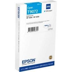 Epson T9072 Cartouhe d'encre Cyan XXL 7000 Pages pour WF6090DW
