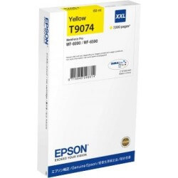 Epson T9074 Cartouhe d'encre Jaune XXL 7000 Pages pour WF6090DW
