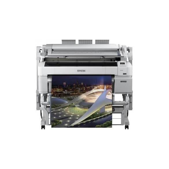 Imprimante Epson SureColor SC-T5200D - 36'' imprimante grand format couleur jet d'encre Ro