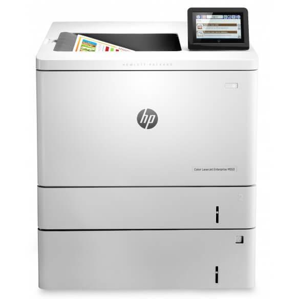 HP Color LaserJet Enterprise M553X Imprimante laser couleur Recto-verso  A4 (photo)