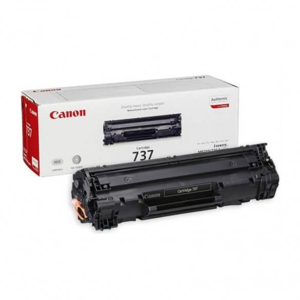 Consommable canon 737 cartouche de toner noir de 2400 pages