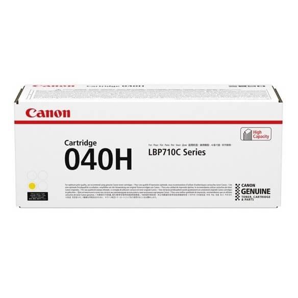 Consommable Canon 040H  cartouche de toner haute capacite Jaun...