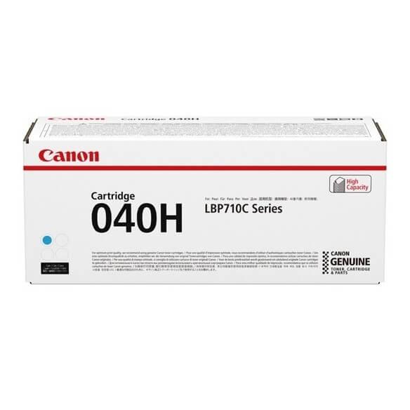 Canon 040H  cartouche de toner haute capacite Cyan 10000 pages pour LBP712Cdn i-SENSYS LBP710Cx LBP712Cx (photo)