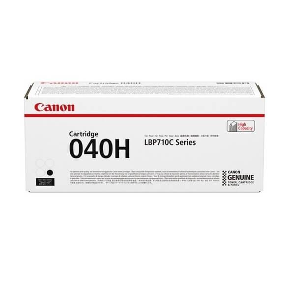 Consommable Canon 040H  cartouche de toner haute capacite Noir...
