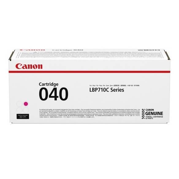 Canon 040  cartouche de toner Magenta 5400 pages pour LBP712Cdn i-SENSYS LBP710Cx LBP712Cx (photo)