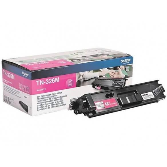 Brother TN326M Cartouche de toner Magenta 3500 pages pour DCP L8450CDW / MFC-L8650/L8850