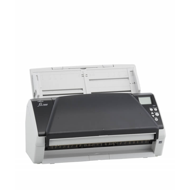fujitsu fi 7480 scanner recto verso 160 ppm avec chargeur. Black Bedroom Furniture Sets. Home Design Ideas