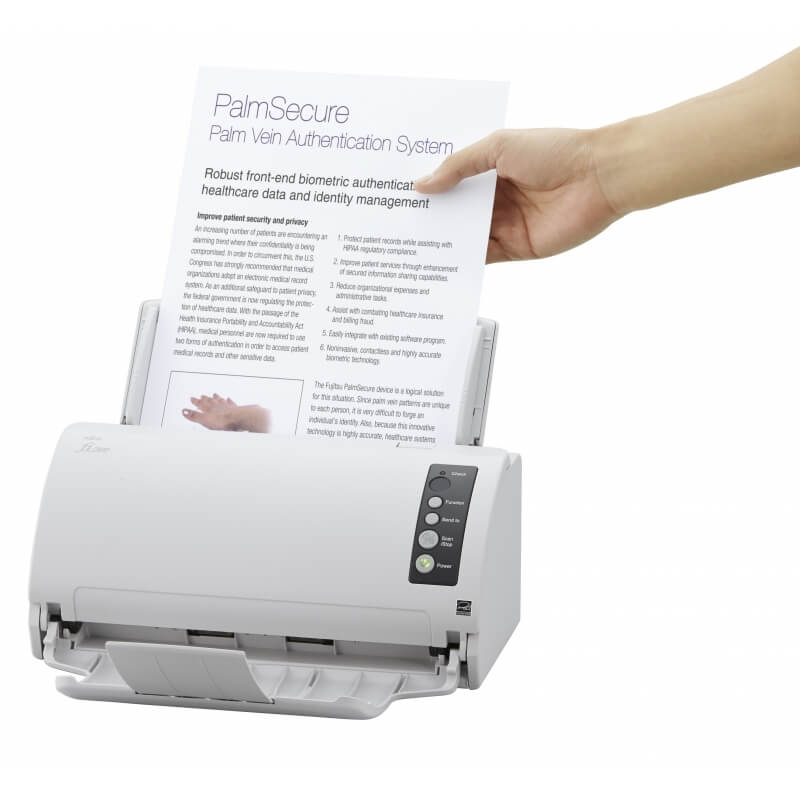 fujitsu fi 7030 scanner recto verso 27 ppm avec chargeur automatique de documents usb le. Black Bedroom Furniture Sets. Home Design Ideas
