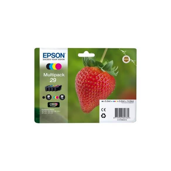 Consommable Epson 29  cartouche d'encre Multipack noir, jaune, cyan, magenta pour Expressi