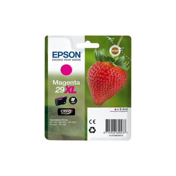 Consommable Epson 29XL cartouche d'encre Haute capacité magenta pour Expression XP-235, X