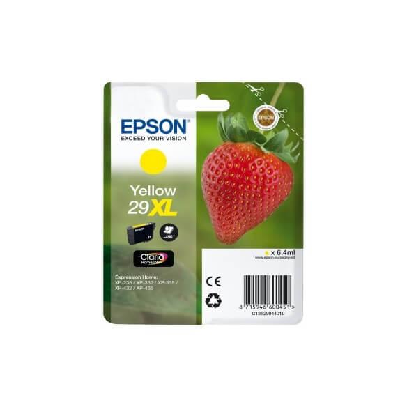 Consommable Epson 29XL cartouche d'encre Jaune pour Expression XP-235, XP-332, XP-335, XP-