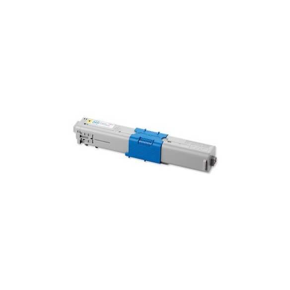 OKI Cartouche de toner Jaune haute capacité 5000 pages pour OKI MC562;MC561;C510,511,530,531