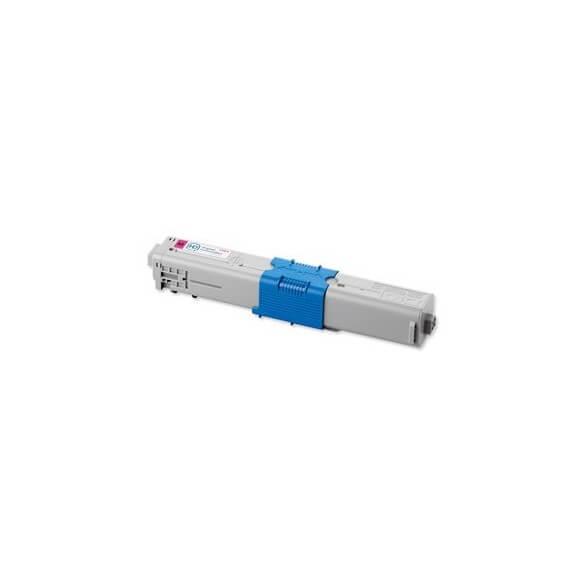 OKI Cartouche de toner Magenta haute capacité 5000 pages pour OKI MC562, MC561, C510 ,511 ,530 ,531