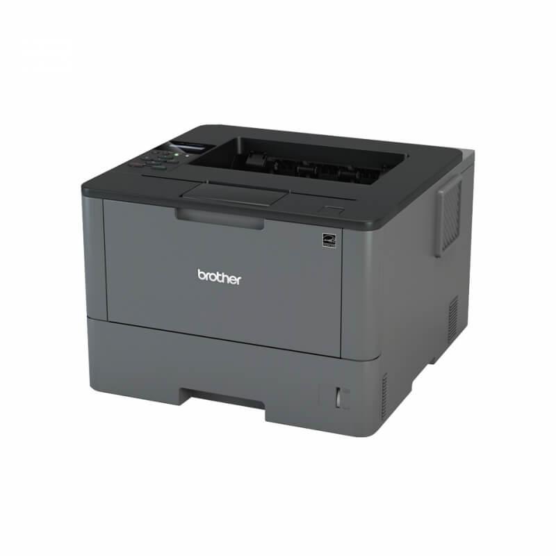 brother hl l5000d imprimante laser noir et blanc recto. Black Bedroom Furniture Sets. Home Design Ideas