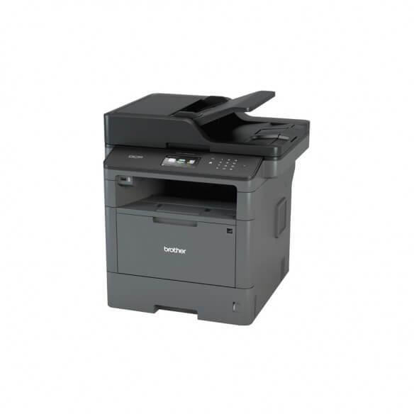 Imprimante Brother DCP-L5500DN multifonction laser noir et bla...
