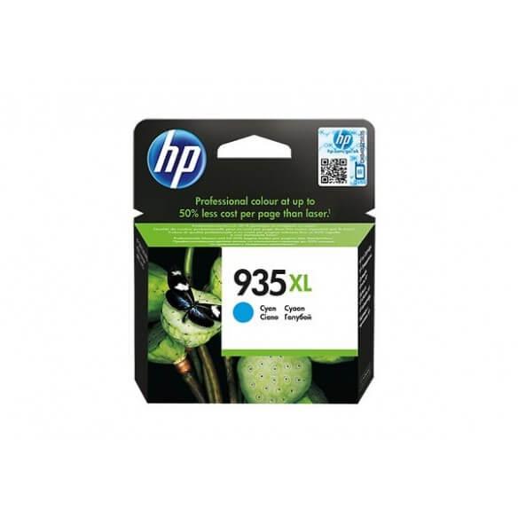 Consommable HP 935XL cartouche d'encre Cyan pour Officejet 6812, 6815, 6820, Officejet Pro