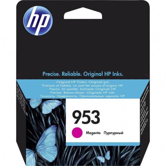 Consommable HP 953 cartouche d'encre Magenta 10 ml pour Officejet Pro 8210, 8218, 8710, 87