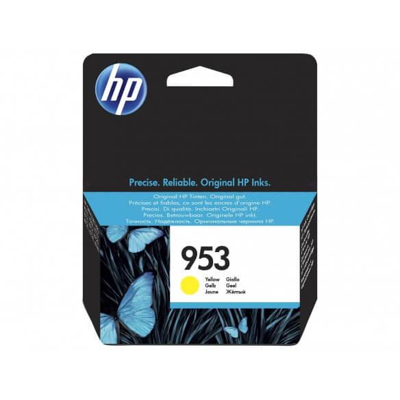 Consommable HP 953 cartouche d'encre Jaune 10 ml pour Officejet Pro 8210, 8218, 8710, 8715