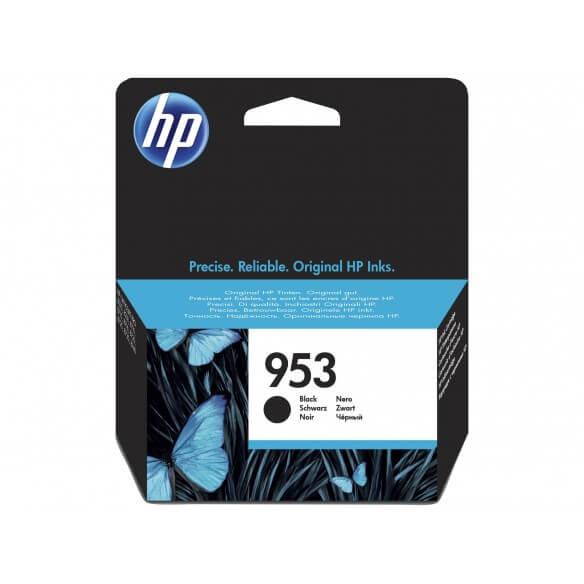 Consommable HP 953 cartouche d'encre noir 23.5 ml pour Officejet Pro 8210, 8218, 8710, 871