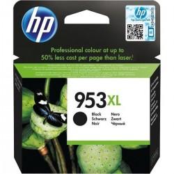 HP 953XL cartouche d'encre noir a rendement élevé 42.5 ml pour Officejet Pro 8218, 8710, 8715, 8720, 8725, 8730, 8740, 8 - 1