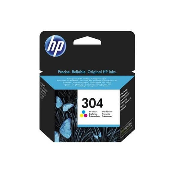 Consommable HP 304 cartouche d'encre Tricolore pour Deskj...