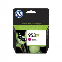 HP 953XL cartouche d'encre magenta a rendement élevé 0.5 ml pour Officejet Pro 8218, 8710, 8715, 8720, 8725, 8730, 8740 - 1