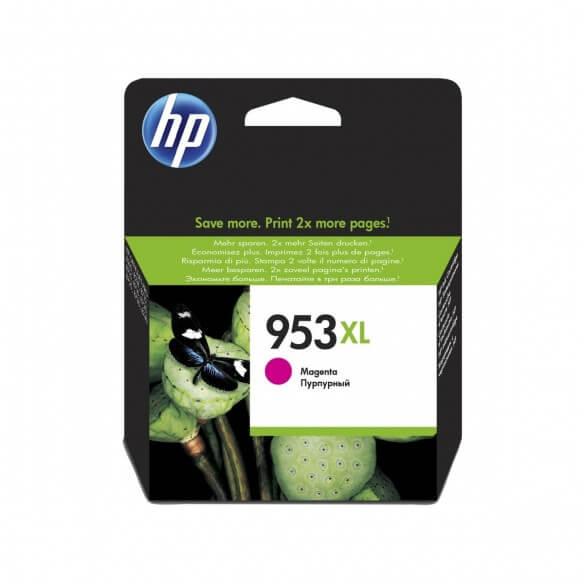 Consommable HP 953XL cartouche d'encre magenta a rendement élevé  0.5 ml pour Officejet
