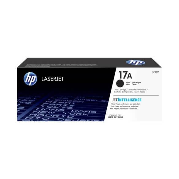 Consommable HP 17A cartouche de toner Noir ( CF217A ) pour Las...