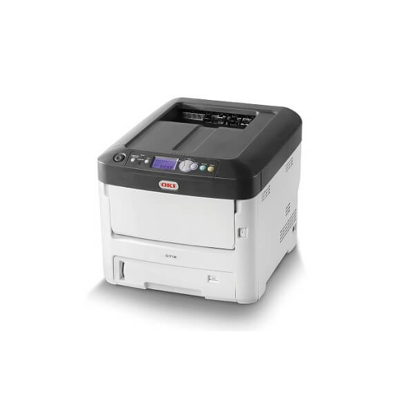 Imprimante OKI C712dn Imprimante laser couleur A4 reseau recto...