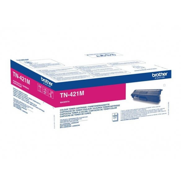 BROTHER TN-421M CARTOUCHE DE TONER CYAN 1800 PAGES POUR DCP-L8410CDW,HL-L8260CDW,HL-L8360CDW,MFC-L8900CDW,MFC-8690CDW