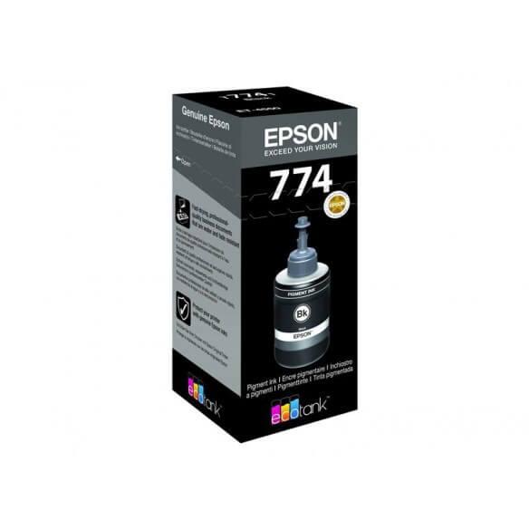 Consommable EPSON CARTOUCHE T7741 ECOTANK noir (140ML)
