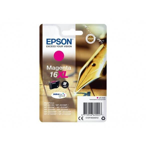 Consommable EPSON CARTOUCHE DE COULEUR magenta JET D'ENCRE  16XL 450 PAGES HAUTE CAPACITÉ