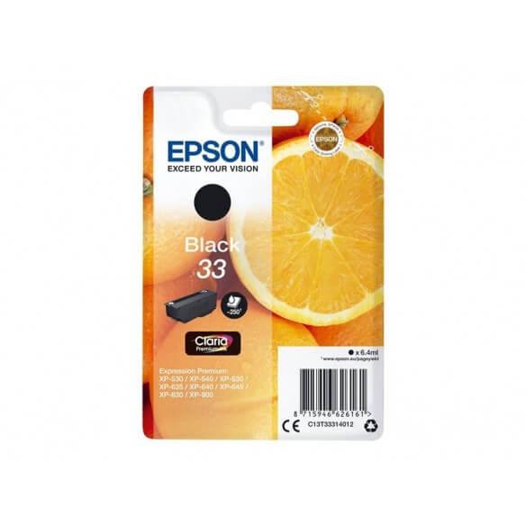 Consommable Epson CARTOUCHE  jet d'encre Noir 250 pages capacité standard